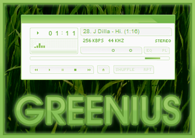 greenius for winamp by bernadinho