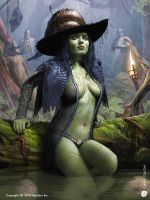 Witch of the east - 1 by DavidGaillet
