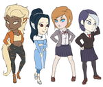 PGA - Some Chibis by athorment