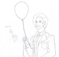 11th Doctor fanart lineart by AoiNaito