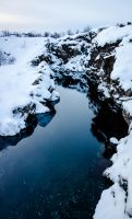Icelandic Coin River by djh3