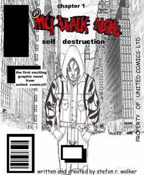 my walk alone issue 1 cover by thestefan