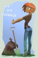 Bye Bye Evidence by Drunken-Novice