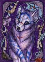 ACEO: Wolf-Minori by Suane