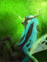 Queen Chrysalis by CordisaWire