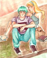Teddy and Victoire by Karmypu