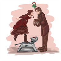 Doctor Who Christmas 2012 by KeresaLea