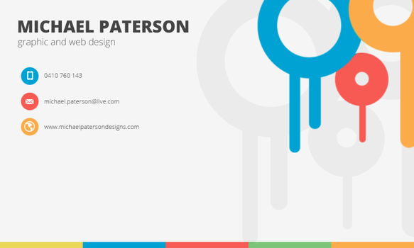 Businesscard2 by MichaelPaterson