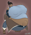 Korra Color by schrodinger1