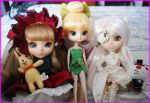 Shinku, Kirakishou and Tinkerbell Pullip 2 by Storm-of-Bagels