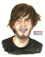 Stay awesome Pewdie! by hannie001