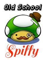 Old School Spiffy- 1 Up 'Shroom by To-Ka-Ro