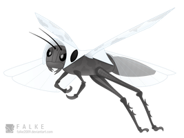 Grasshopper Fakemon by falke2009