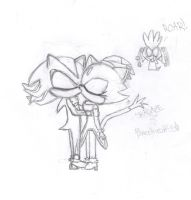 Shadaze...uncolored by BlazetheCat55