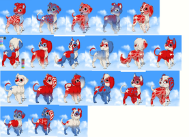 Free Adopts ONLY 2 LEFT by 12girlwithadream