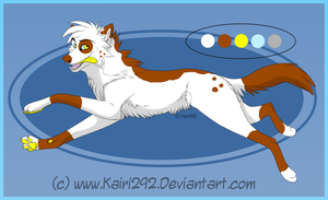 Wolf Adopt: 20 -SOLD- by DemoniaTheGuardian