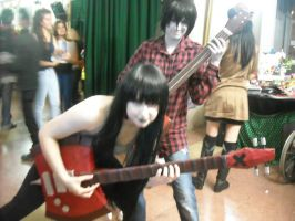 Marshall and Marceline. by Sarasacop