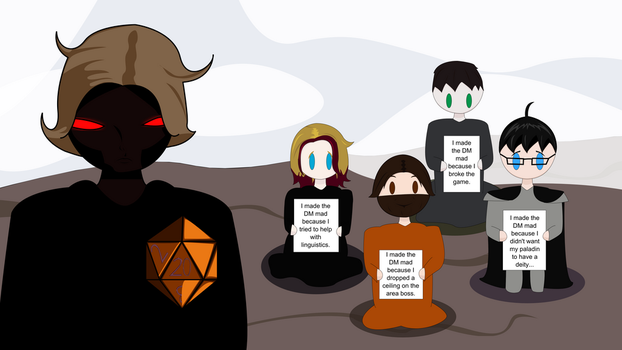 Player Shaming: DM Edition by technofairyfolclor