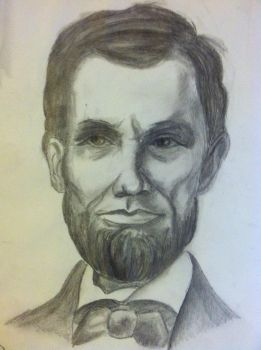 Abraham Lincoln by olivekebab