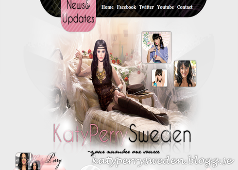 KAty Perry Layout by Cicciz