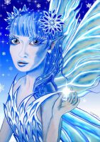 Winter Frost Faerie by AnthonySpearsFae