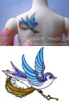 Tattoo for msd by saskha
