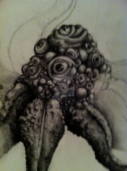 Unfinished Octopus by ShannahPearle