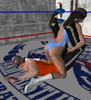 Mixed Wrestling 33 by cattle6
