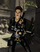 TRA: Lara Luvs Catsuits....Me 2....Meowwww =^.^= by Krypto4CatSuits