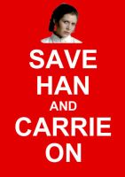 Save Han And Carrie On by Jeffrey-Scott