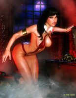 Vampirella by Agr1on