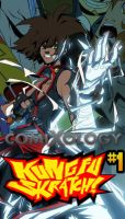 KUNG FU SKRATCH! is at COMIXOLOGY! by King-Taurus