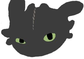 Toothless by huntercobb98
