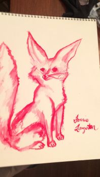 Fennec Fox 3  by ZoeCicero