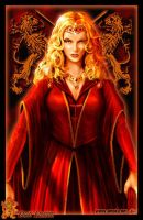 Cersei Lannister by Amok by Xtreme1992