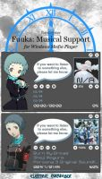 Fuuka:  Musical Support 1.0 by My-Electric-Cucumber