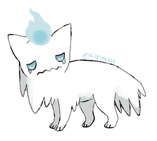 Ghost fakemon by Kipine