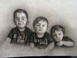 3 lil buggas commission by ADRIANSportraits