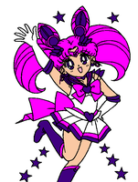 Super Sailor Neo Moon by chibialvin
