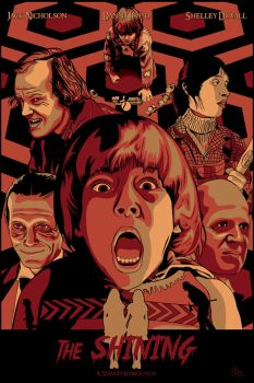 The Shining (alternative poster) by GB-ART3
