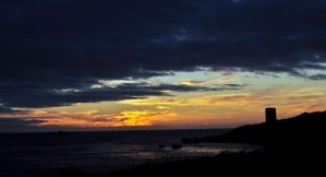 Guernsey Sunset 2 by Chihito