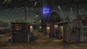 C-47 Slums by NateHallinanArt