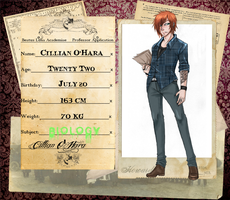 BL-A: Cillian O'Hara by NightmareInspections