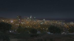 Los Santos at Night by AdamWaymire