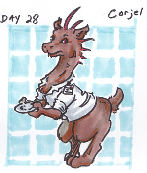 30characters - day 28 - corjel by not-fun