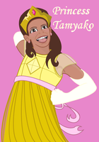 Princess Tamyako by meganschmidt