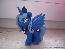 MLP Princess Luna Fimo by Qucykowa