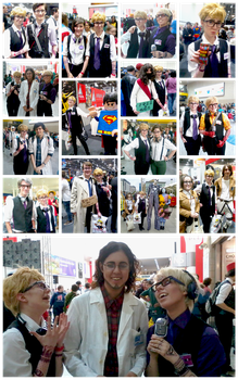 Cecil Baldwin Cosplay - London Expo October 2013 by Iszy-chan