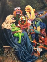 Song of The Electric Mayhem by wytrab8