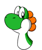 Yoshi...or something.. by BetaBrothers